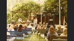 """""""Allemansfesten"""" på gamla brandstationen  1980"""